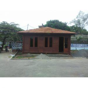 rumah kayu mushola