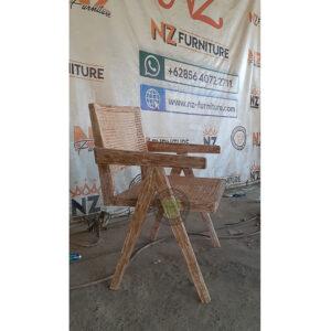 kursi makan rustic