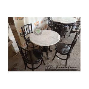 Set Meja Makan Cafe Kopitiam