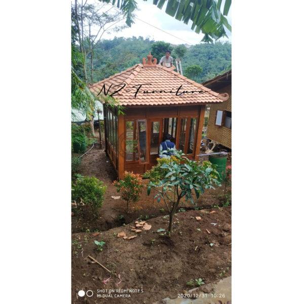 Rumah Kayu Kaca