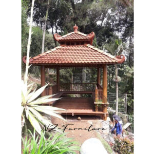 Gazebo Atap Tumpuk