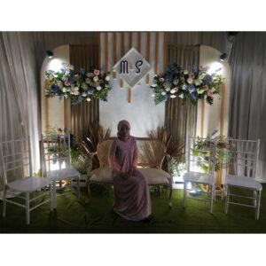 Set Kursi Wedding Day